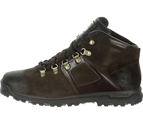 Timberland GT Scramble FTP_GT Scramble Mid Leather WP - botas de cuero hombre Braun