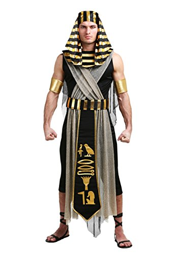 All Powerful Pharaoh Plus Size Men's Costume 2X Black]()