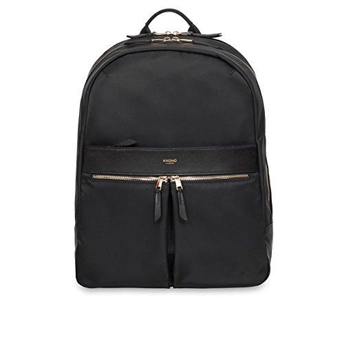 Knomo Luggage Women s Mini Beauchamp Travel Cross-Body Bag, Black, One Size