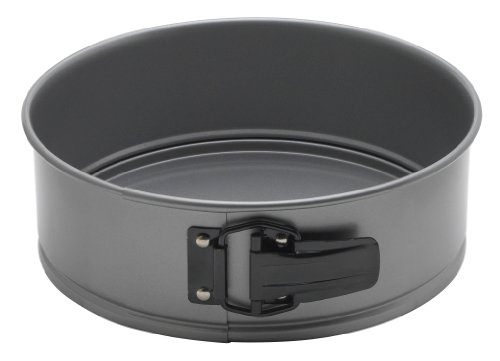 Mrs. Anderson's Baking 43689 Springform Pan, 8-Inch, Carbon Steel with Quick-Release Non-Stick Coating (8 Springform Pan)