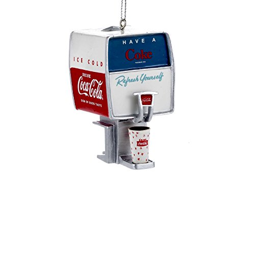 Coca Cola Vintage Fountain Soda Dispenser Christmas Ornament By Kurt Adler