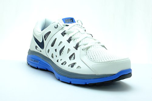Nike Dual Fusion Run 2 For Mens Running Shoes White Color Size 9