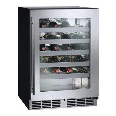 40 Bottles Single Zone Built-In Wine Refrigerator Hinge Location: Right (Perlick Refrigerator Wine)