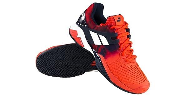 Hombre Zapatillas de tenis Babolat propulse Fury Clay: Amazon.es: Deportes y aire libre