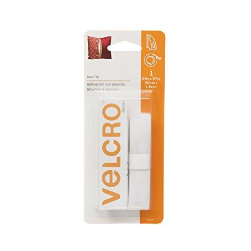 VELCRO Brand Iron Tape White