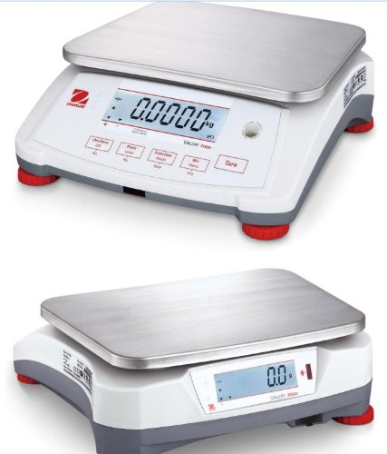 Ohaus-Valor-V71P3T-Compact-Portable-Bench-Checkweigher-Scale-6-lbs-3kg-Readability-00002-lb-01g-Dual-Display-CountingNTEPLegal-For-TradeClass-IIIRS232New