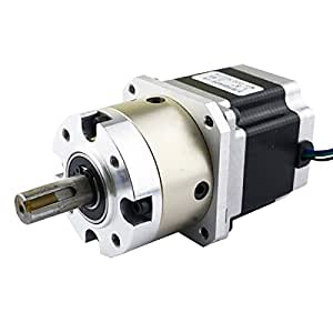 4 1 planetary gearbox nema 23 stepper motor 2 8a for diy for Best router motor for cnc