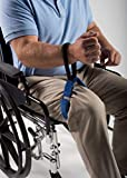 Patient Aid Thigh Lifter Strap, Leg Lift Assist Band with Padded Wrist Strap for Lifting, Movement, Transfer – Mobility Device for Disabled, Elderly, Limited Mobility, After Surgery Bed Rest