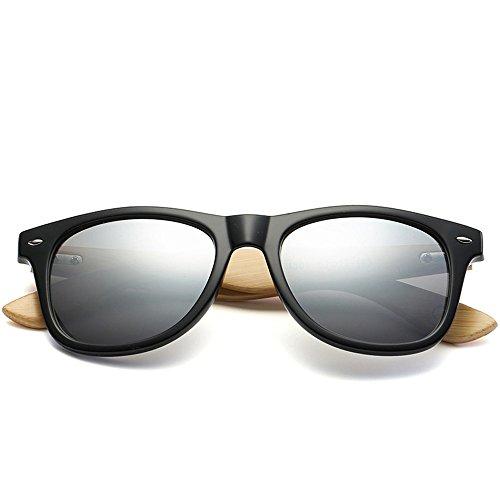 patas Gafas de para personalidad hombres Uno madera de sol mujeres sol sol 6 gafas de Gafas sol de gafas de de y Shop de de bambú bambú 5vwqzU