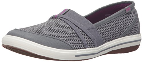 Keds Women's Summer Fashion Sneaker, Steel Grey, 10 M US