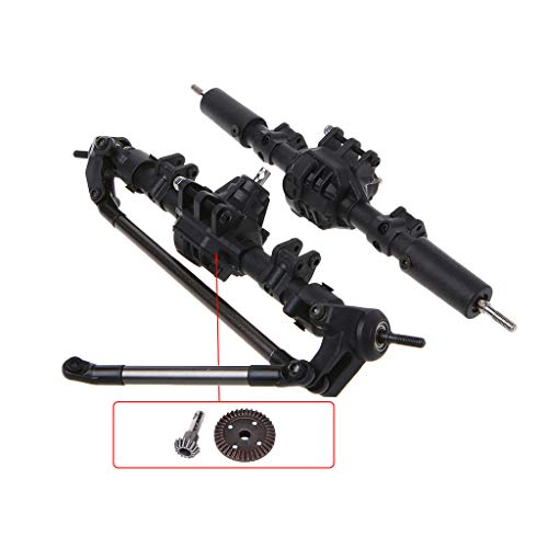 - EAPTS 1:10 RC Crawler Complete Differential Axle for Axial SCX10 II 90046 90047 Car Upgrade Parts (CD)