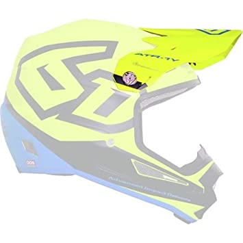4c933160 Amazon.com: 6D Helmets ATR-1Y Visor - Macro (NEON YELLOW): Automotive