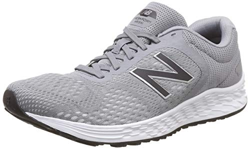 New Balance Men's Arishi V2 Fresh Foam Running Shoe, Grey/Grey/Silver, 15 D US