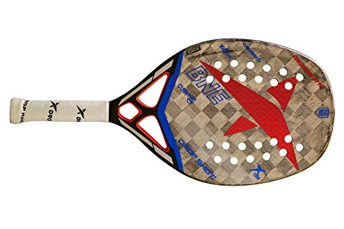Drop Shot Conqueror BT 7.0 Professional Beach Tennis Paddle (2019 Model)