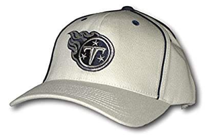 Tennessee Titans Khaki Adjustable Hat Lid Cap from Fan Apparel