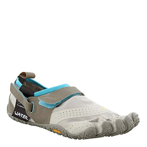 Vibram Women's V-Aqua Grey/Blue Water Shoe, 38 EU/7-7.5 M US B EU (38 EU/7-7.5 US US) by Vibram