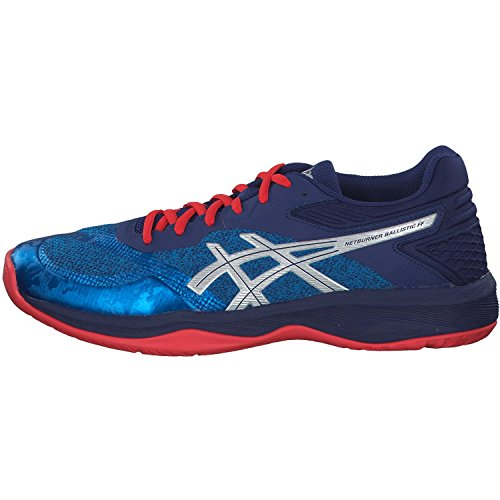 silver 46 Ff Volley Race Scarpe 1051a002 Asics UomoNetburner Ballistic 400 Blue 5 mN8vn0wO