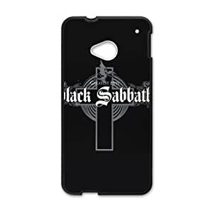 HTC One M7 Cell Phone Case Black Black Sabbath D5770259