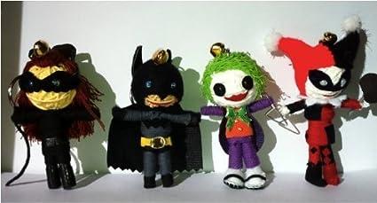 Amazon.com: Cadena Doll mundo – Batman & Catwoman & Joker ...