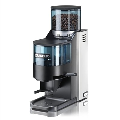 Rancilio HSD-ROC-SS Rocky Espresso Coffee Grinder with Doser Chamber by Rancilio