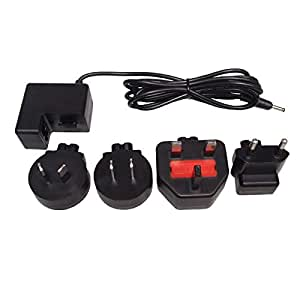 For Nikon Coolpix 2000, 4300, 4500, 5000, 5700 Camera Power Charger with 4 Travel Plugs