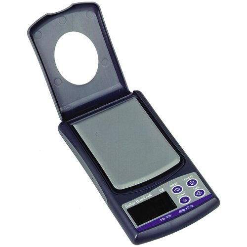 (Salter Brecknell PB-500 Pocket Balance LCD Display, 3