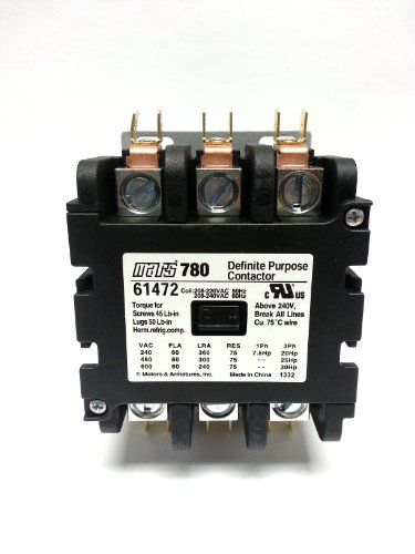 MARS 780 61472 CONTACTOR (direct replacement of Furnas 42EF35AG) ()