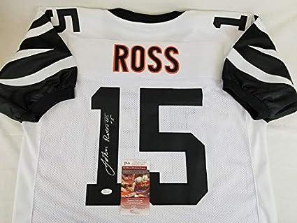 buy online b0d7e 1ba9e John Ross Cincinnati Bengals Signed Jersey JSA Witness ...