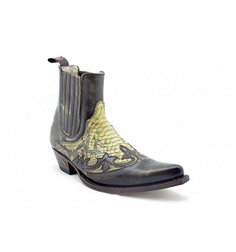 Botines Marrones Camperos Pitón Sendra 9396P - Marron, 40, 9396P: Amazon.es: Zapatos y complementos