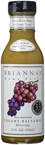 (Brianna's Vinaigrette Dressing, New American, 12 Fl Oz )