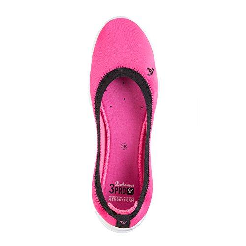 Nike 3pro Ballerina, Zapatillas de Deporte Exterior Para Mujer Rosa (Pink F)