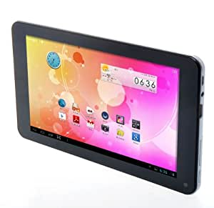 """Adspec AdTab 7 - Tablet de 7"""" (3G, 8 GB, 1 GB RAM, Android Kit Kat), negro [Importado]"""
