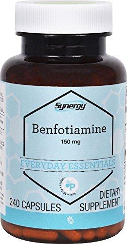 Vitacost Synergy Benfotiamine — 150 mg – 240 Capsules
