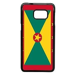 Samsung Galaxy S6 Edge Plus Phone Case Black Grenada Flag NLG7852506