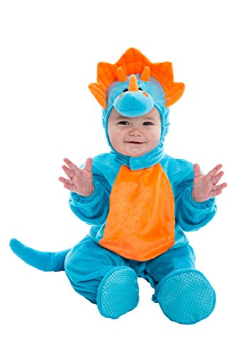 Infant Blue and Orange Dino Costume - 0/9 Mo for $<!--$29.99-->