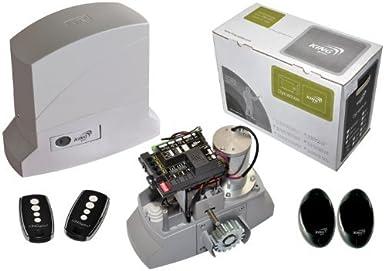 King Gates dinamos 600 LT Kit (para puerta corredera): Amazon.es ...
