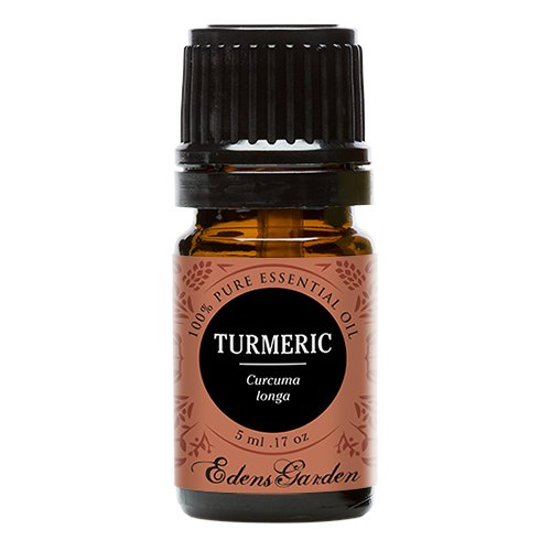 Edens Garden Turmeric 5 ml 100% Pure Undiluted Therapeutic Grade Essential Oil GC/MS Tested by Edens Garden