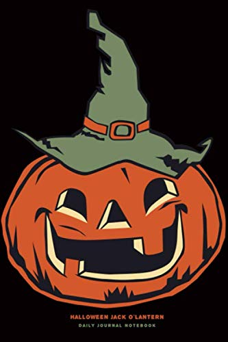 Halloween Jack O'Latern - Daily Journal Notebook: 6
