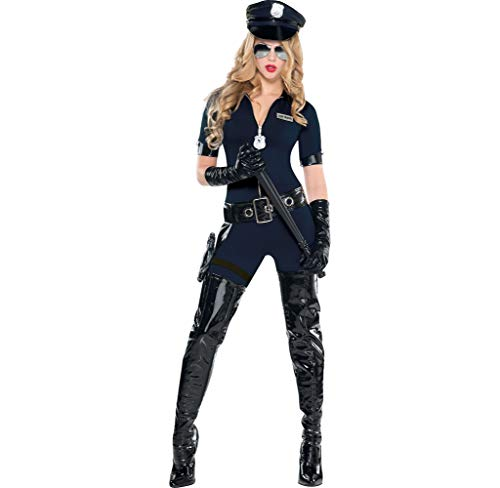 Amscan Adult Stop Traffic Sexy Cop Costume- Small (2-4)