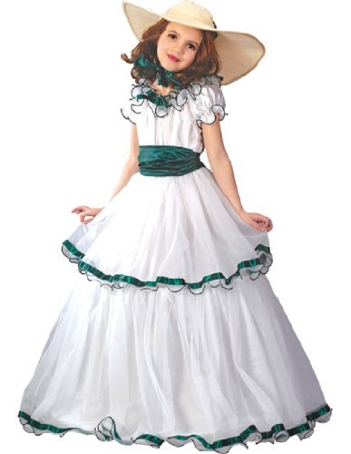 Southern Belle Costume Kids - Child Southern Belle