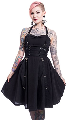 Clothing Dress Kleid Schwarz Heartless LUCYA YHdqnwWWR