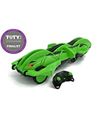 """Terrasect Remote Control Transforming Vehicle, Green, 2.4 Ghz, 13.8"""""""