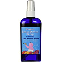 Diaper Lotion Potion Spray - All Natural Diaper Rash Guard for Your Baby's Bottom - Healing and Soothing Antibacterial 2-in-1 Cleanser and Lotion with Lavender and Tea Tree Essential Oils