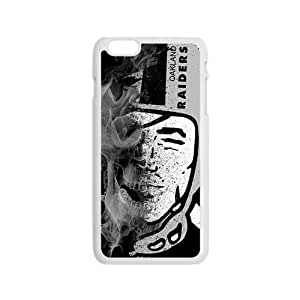 Abstract Oakland Raiders Design Plastic Case Cover For Iphone 6