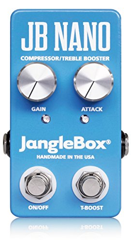 Janglebox JB Nano Compressor / Treble Booster Pedal - Treble Booster