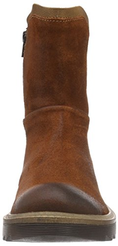 camel active Cult 70 - Botas de motociclista de piel mujer marrón - Braun (rust/brandy)