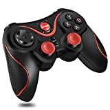 T3- Bluetooth Wireless Game Controller Gamepad Joystick for iOS Android Cellphone Tablet TV Box, Pad, Tablet (Color: default)