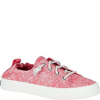 Sperry Top-Sider Crest ebb Sandwash Sneaker rose size:5.5M US