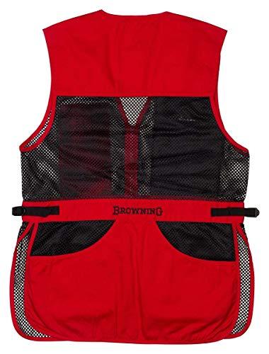 Browning 3050267103 Vest,Trapper Creek Red/Black,L