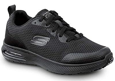 Skechers Jenny Women's Black Soft Toe Slip Resistant Athletic